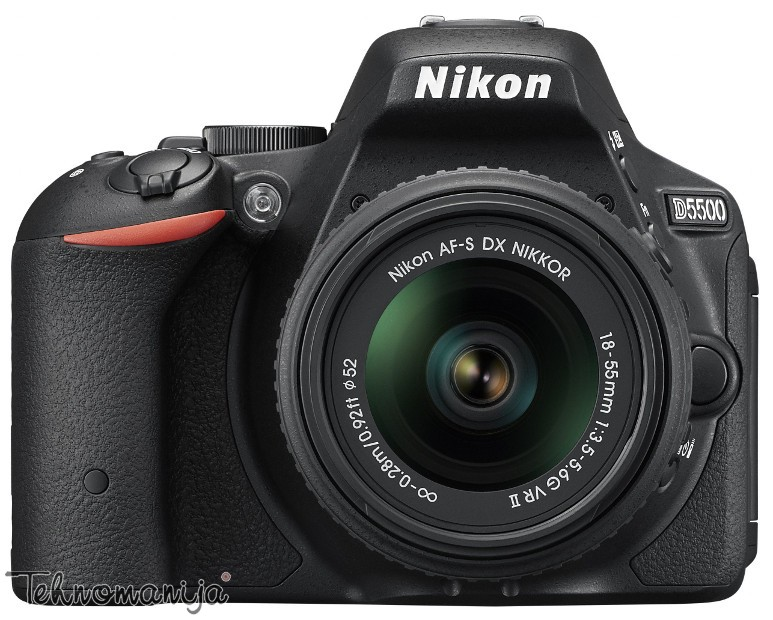 Nikon DSLR fotoaparat D5500 18-55VR
