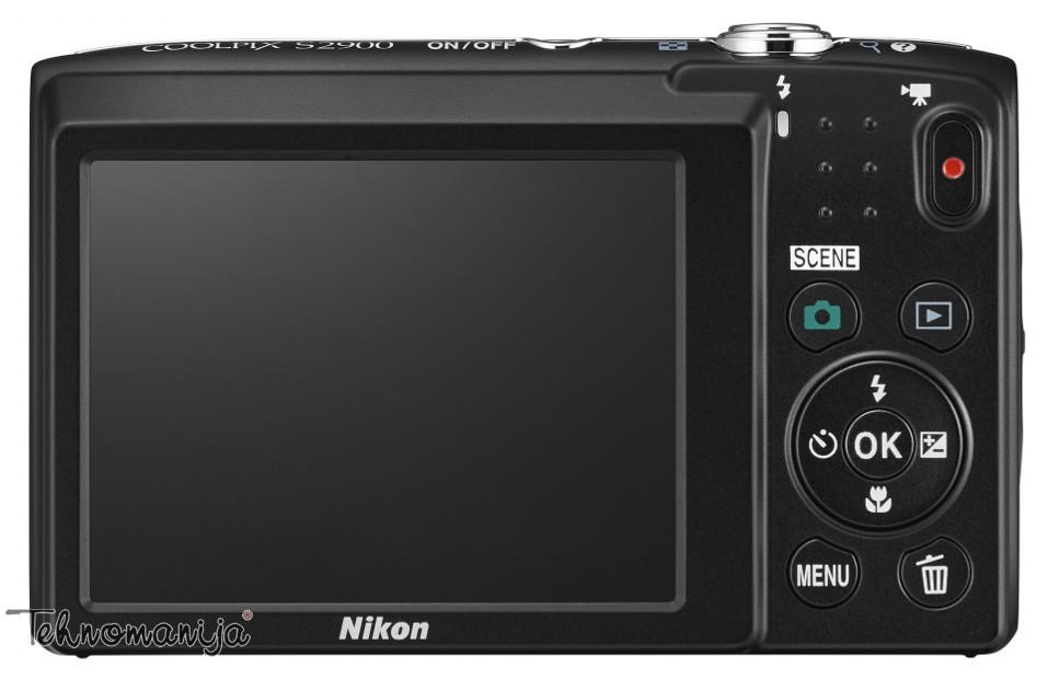 NIKON fotoaparat COOLPIX S2900 CRNI +Torbica