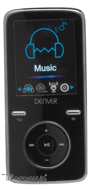 DENVER Mp3 plejer MPG 4054NRC, 4GB