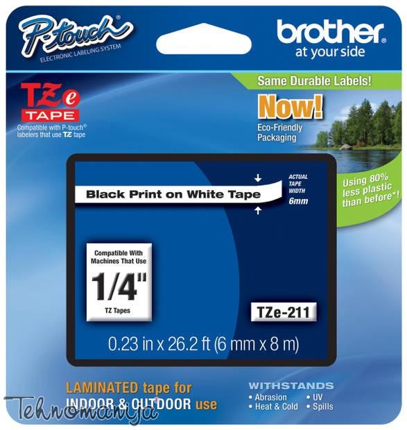 Brother traka za štampač nalepnica TZe211