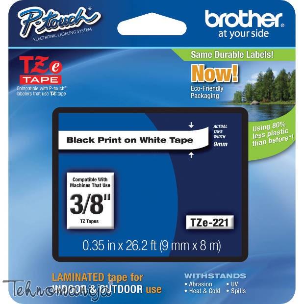 BROTHER Traka za štampač nalepnica TZE221