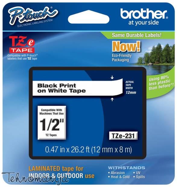 Brother traka za štampač nalepnica TZe231