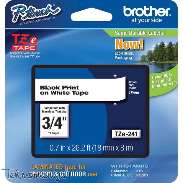 Brother traka za štampač nalepnica TZe241