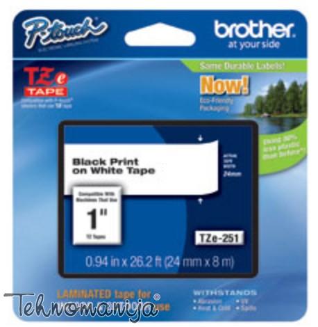 Brother traka za štampač nalepnica TZe251