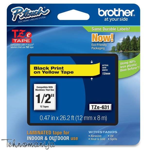 Brother traka za štampač nalepnica TZe631