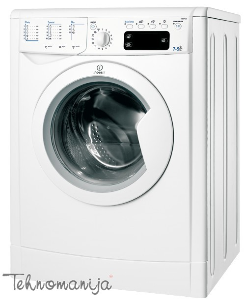 INDESIT Mašina za pranje i sušenje veša IWDE 7125BEU