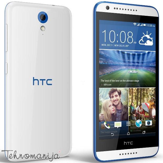 HTC smart mobilni telefon Desire 620G DS WH BLU