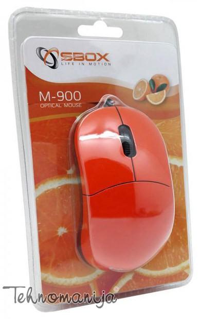 S Box optički miš M 900 Orange