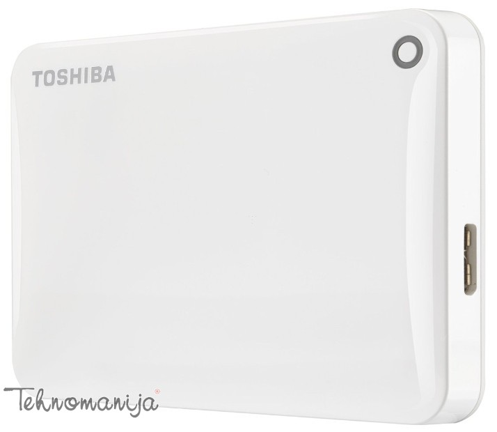 "Toshiba Canvio Connect II 2.5""500GB White, USB 3.0 eksterni hard"
