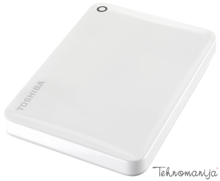 "Toshiba Canvio Connect II 2.5""1TB White, USB 3.0 eksterni hard di"
