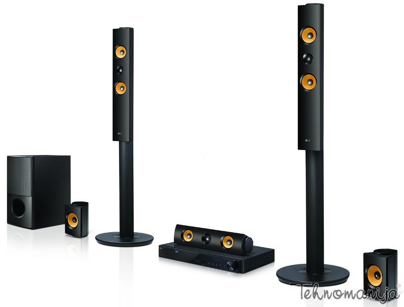LG 3D Blu-ray sistem LHB-745