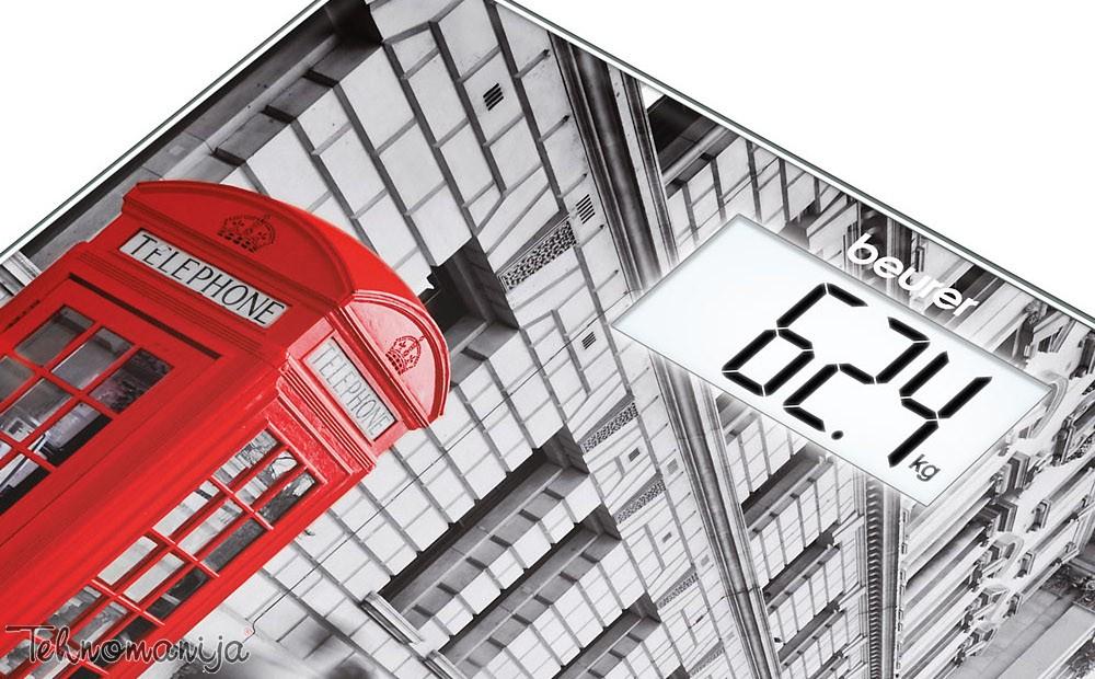 BEURER Vaga za merenje telesne težine GS 203 London