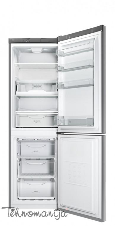 INDESIT Kombinovani frižider LI8 N1 X, No Frost