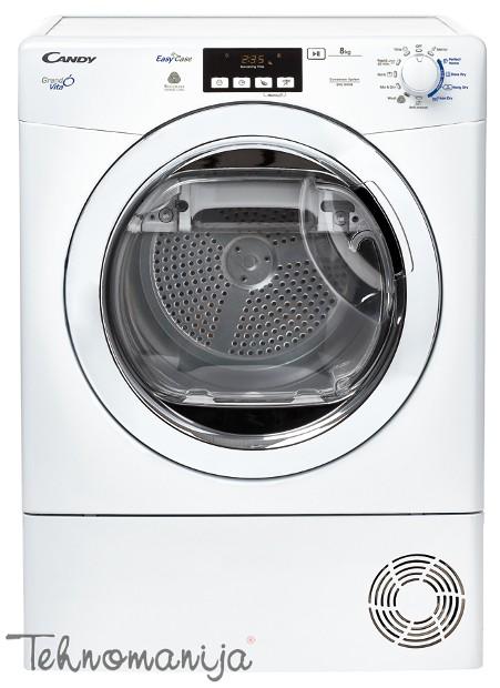 CANDY Mašina za sušenje veša GVC D813B. Kondenzatorska