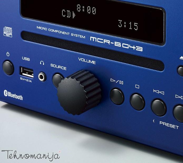YAMAHA Mini linija MCRB043 BLUE
