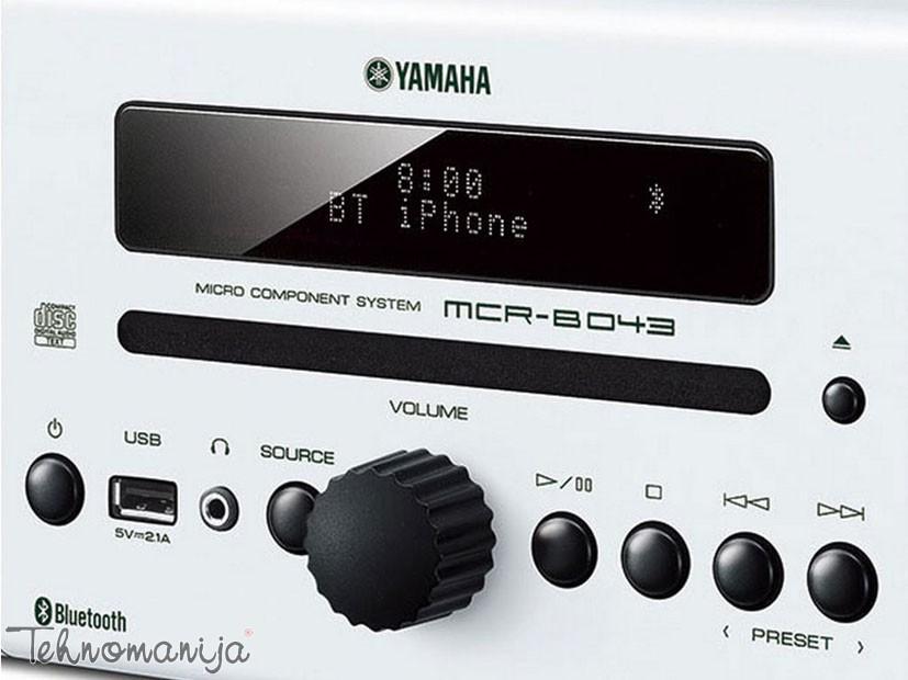 YAMAHA Mini linija MCRB043 WHITE