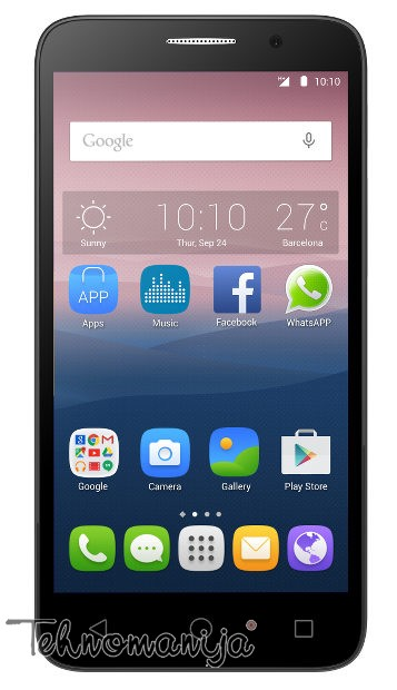 Alcatel smart mobilni telefon One Touch POP 3 OT-5015D SOFT SILVER