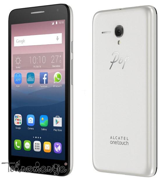Alcatel smart mobilni telefon One Touch POP 3 OT-5015D SOFT SILVER