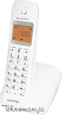 ALCATEL Bežični telefon E130 WHITE