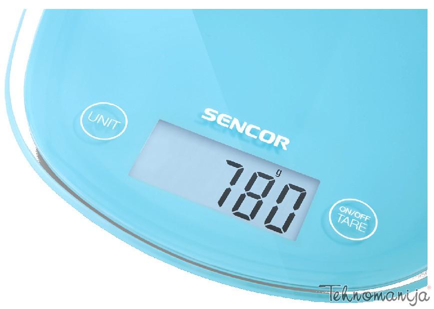 Sencor kuhinjska vaga SKS 32 BL