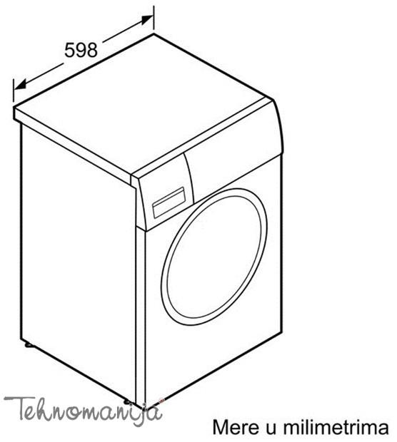 BOSCH Mašina za sušenje veša WTH 83000BY, Toplotna pumpa