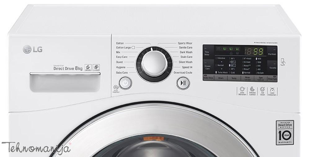 LG Mašina za pranje veša FH 4A8TDN2