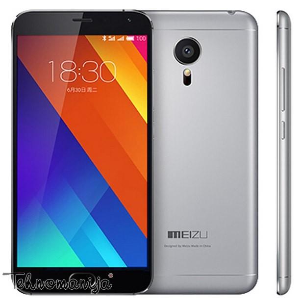 Meizu smart mobilni telefon MX5 16GB M575DS GRAY