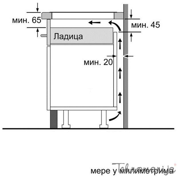 BOSCH Ugradna ploča PVS 645FB1E