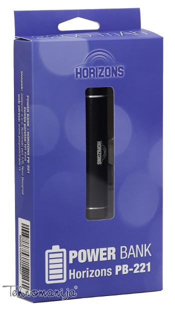 Horizons prenosna baterija PB-221