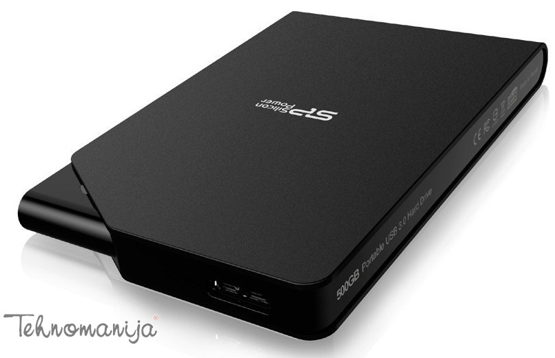SILICON POWER Eksterni hard disk SP500GBPHDS03S3K
