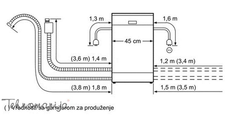 Bosch ugradna sudomašina SPI 50E65EU