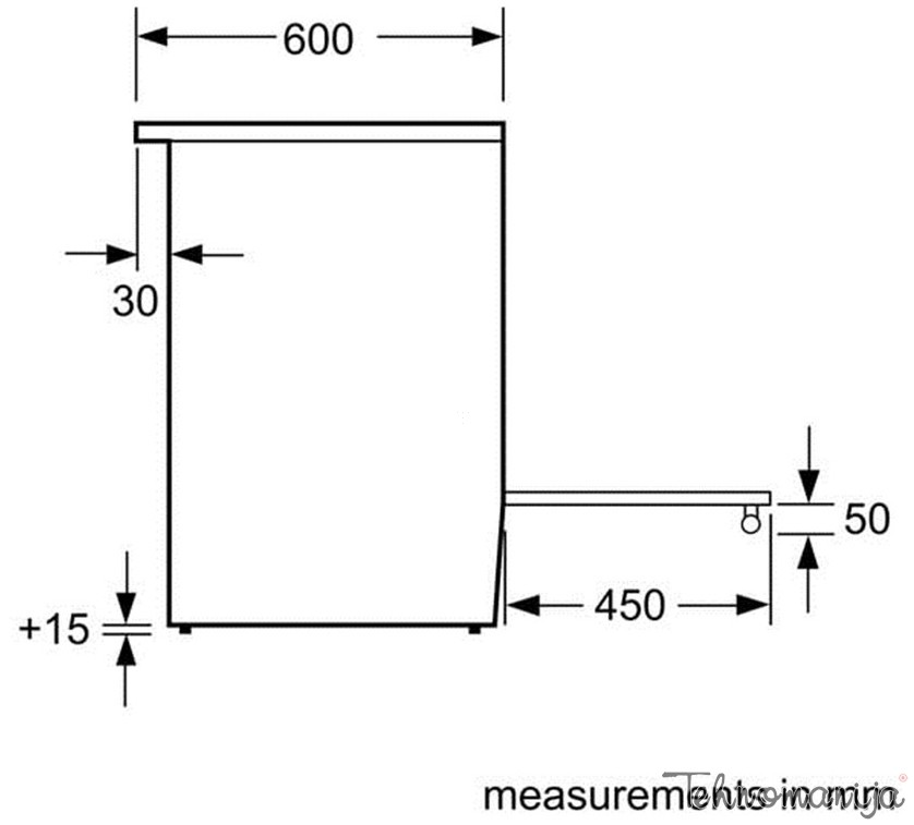 BOSCH Električni šporet HCA 743250E, Multifunkcionalna rerna