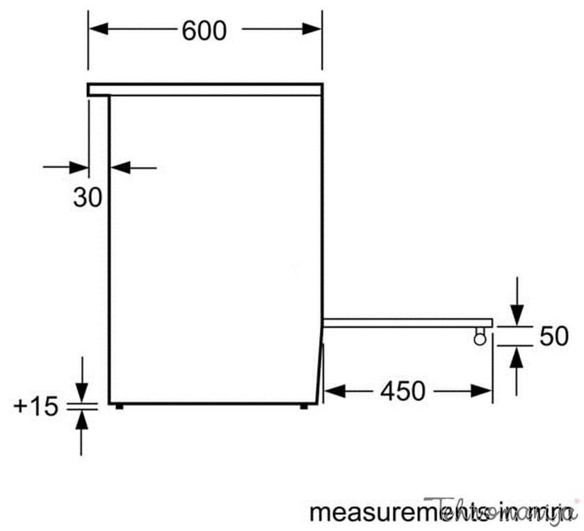 BOSCH Električni šporet HCA 633150E, Multifunkcionalna rerna