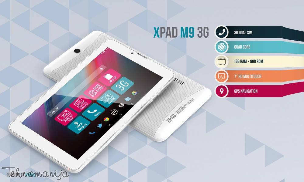 X Wave tablet XPAD M9 3G