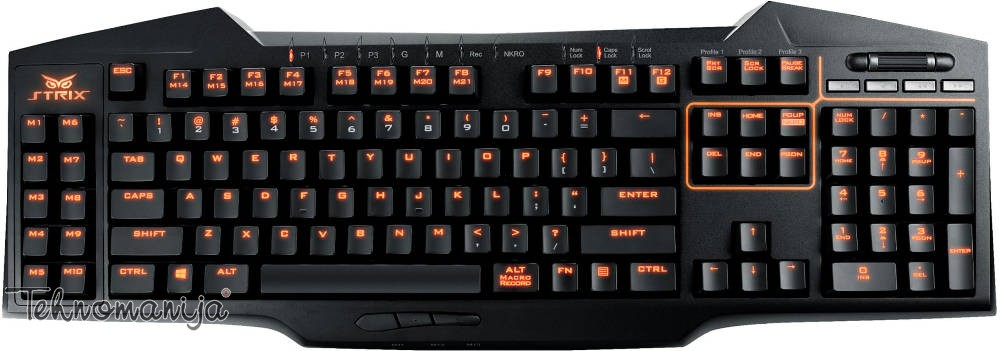 Asus gejmerska tastatura STRIX TACTIC PRO