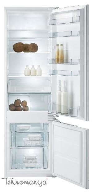 GORENJE Ugradni frižider RKI5182EW, Samootapajući