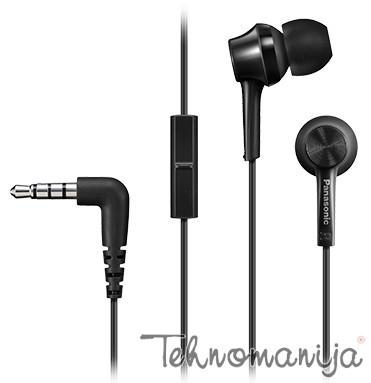 Panasonic slušalice sa mikrofonom RP-TCM105E-K