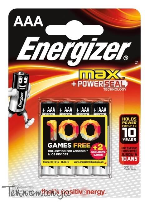 Energizer baterija MAX LR03 G