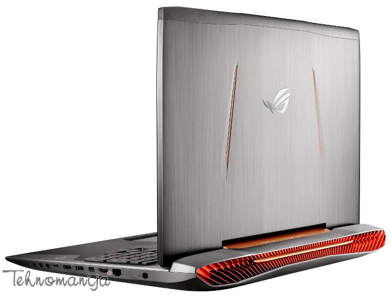 "ASUS Laptop G752VL-GC049T, 17.3"", 16 GB, 256 GB SSD, Win 10"