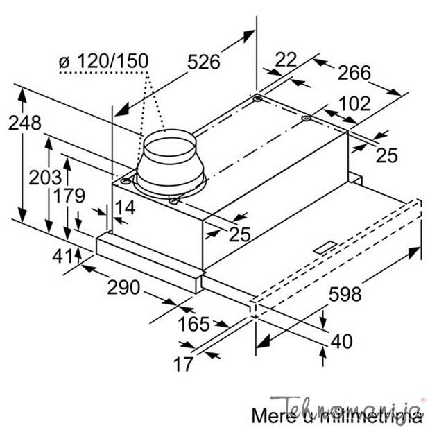 BOSCH Aspirator DFL 064A50