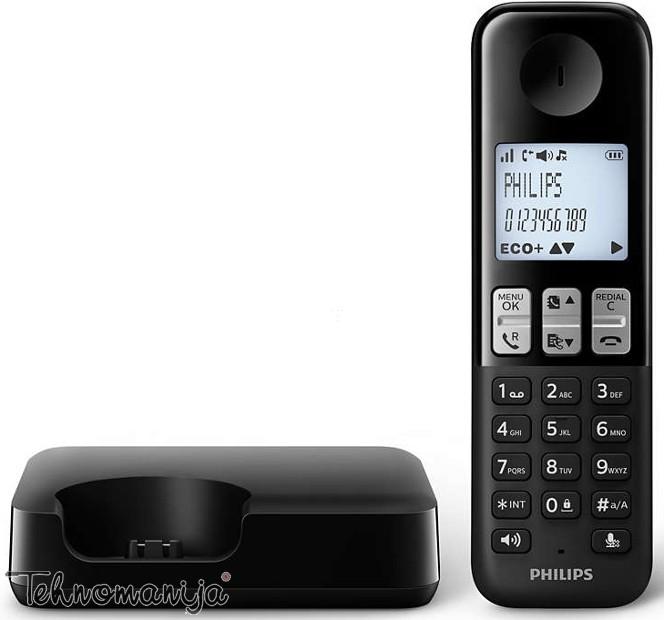 Philips bežični telefon D 2301B/53