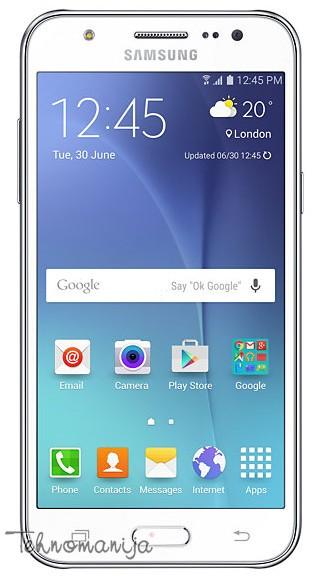 Samsung smart mobilni telefon Galaxy J500 DS WHITE