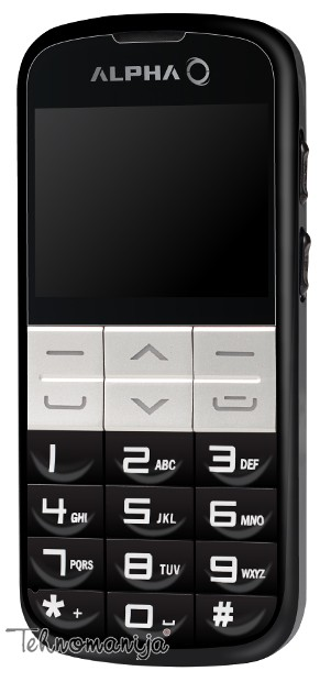 Alpha mobilni telefon Elephant DS BLACK
