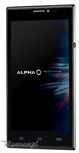 ALPHA Smart telefon CORSO DS BLACK, 512MB, 8MP