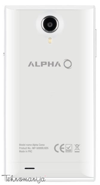Alpha smart mobilni telefon Corso DS WHITE