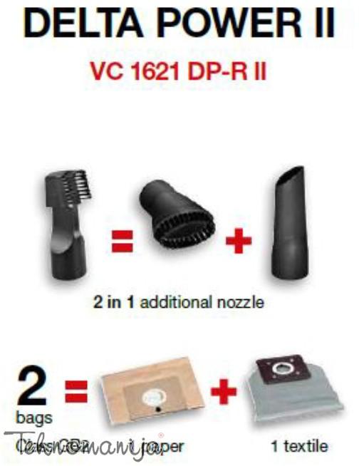 GORENJE Usisivač VC1621DPRII, 1600W