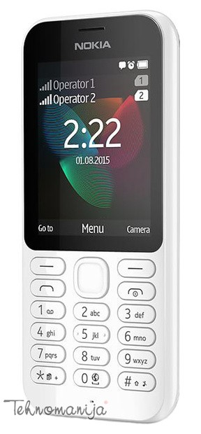Nokia mobilni telefon N 222DS WHITE