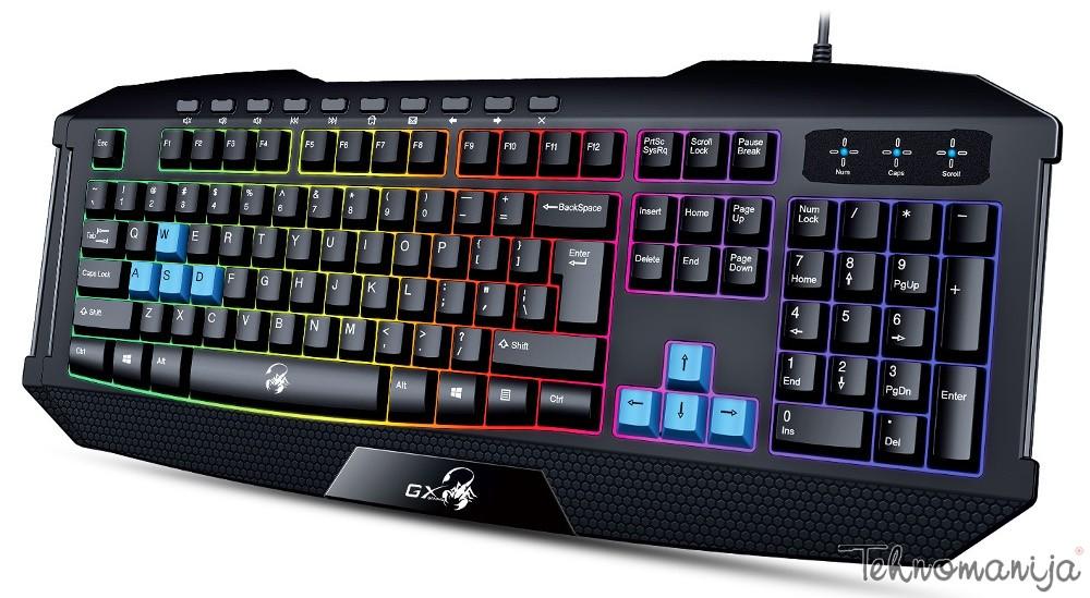 Genius gejmerska tastatura SCORPION K 215