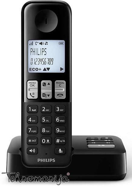Philips bežični telefon D 2351B/53