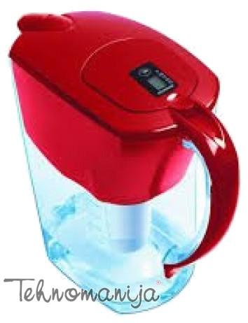 Akvafor bokal za filtriranje vode PREMIUM CRVENI
